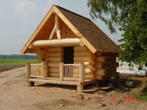 Sauna log house in Barrie